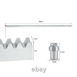 1200/2000KG Sliding Gate Opener Automatic Remote Kit Electric 6M Track Rails Set