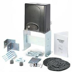 1400lbs Automatic Sliding Gate Opener Door Hardware Kit Security System