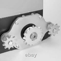 3300LB Electric Sliding Gate Opener Automatic Motor Remote Kit Heavy WF