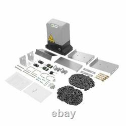 3300 Lbs Automatic Sliding Gate Opener Motor Auto-Close Security System Kit HOT