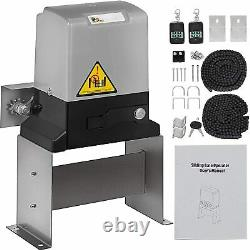 3300lbs Sliding Electric Gate Opener Automatic Motor Remote Kit Heavy Duty USA