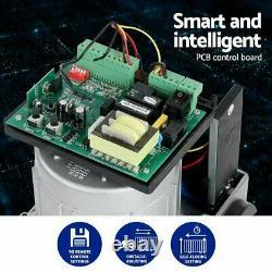 4000lb Electric Sliding Gate Opener 1800KG Automatic Motor Kit, 2 remotes