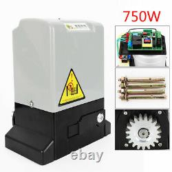 4400lbs 2000KG Sliding Electric Gate Opener Automatic Motor Remote Kit Driveway