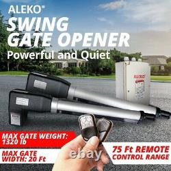 ALEKO Accessory Kit Swing Gate Opener For Dual Swing Gates Up to 1320 lbs