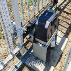 ALEKO Basic Kit Gate Opener for Sliding Gates Up to 40 ft Long and 1400 lb