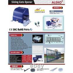 ALEKO Basic Kit Sliding Gear Rack Driven Opener For Gate Up To 30-ft 900-lb