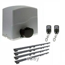 ALEKO Basic Kit Sliding Gear Rack Driven Opener For Gate Up To 40-ft 2200-lb