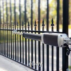 ALEKO Basic Kit Swing Gate Opener For Dual Swing Gates Up To 1300-lb