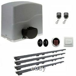 ALEKO Sliding Gear Rack Driven Opener Accessories Kit for Gate Up to 40ft