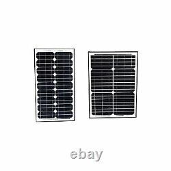 ALEKO Solar Kit for Gate Opener -24V Solar Panels, Batteries, Charge Controller