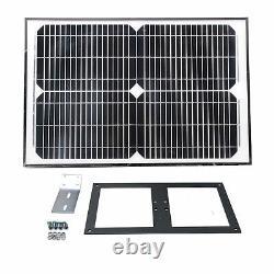 ALEKO Solar Powered Kit Swing Gate Operator For Single Gates up to 660 lb
