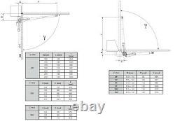 AUTOMATIC SWING GATES OPENERS V2 CALYPSO 400 FULL KIT COMPLETE SET LEAF 2.5m