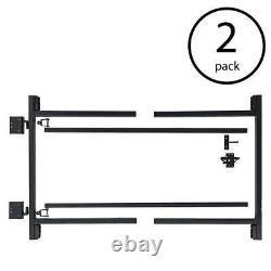 Adjust-A-Gate Gate Building Kit, 60-96 Wide Opening Up To 4' High (2 Pack)