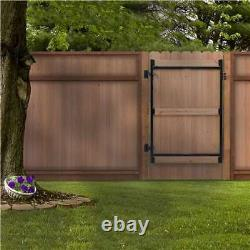 Adjust-A-Gate Gate Building Kit, 60-96 Wide Opening Up To 6' High (Open Box)