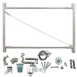 Adjust-A-Gate Steel Frame Gate Building Kit, 36-72 (Open Box) (2 Pack)