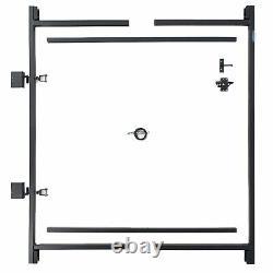 Adjust-A-Gate Steel Frame Gate Building Kit 60-96 wide openings, 5' 6' h