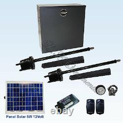 Apollo 1600 Gate Opener Kit 5 Automatic Solar Swinging Operator for Residential