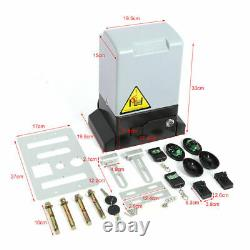 Automatic Electric Powered Swing Gate Opener Kit Remote Control 1200kg 2000kg