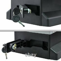Automatic Electric Sliding Gate Opener 2700lbs Motor with 2 Remotes Heavy Duty Kit
