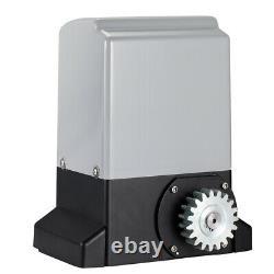 Automatic Electric Sliding Gate Opener Motor Garage Door Remote Control Kit US