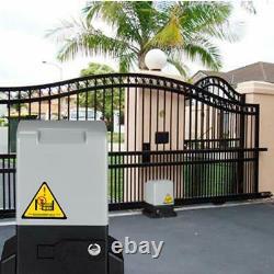 Automatic Sliding Gate Opener Hardware Driveway Door Operator Kit 1800lb/3500lbs