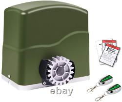 Automatic Sliding Gate Opener Kit Heavy Duty Motor for 1600 Pounds and 40 ft