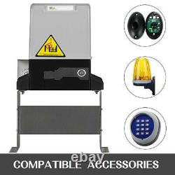 Automatic Sliding Gate Opener Kit Security System With Sensors And Solar Panels