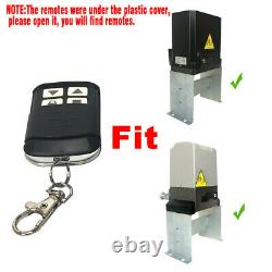 Automatic Sliding Gate Opener Kit with 4X wireless Remote Chain Driveway AC motor