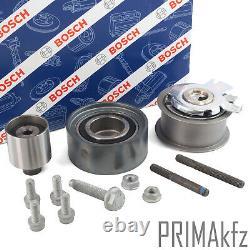 BOSCH Zahnriemensatz 1 987 948 075 + Wasserpumpe für Audi Seat Skoda VW 2.0 TDI