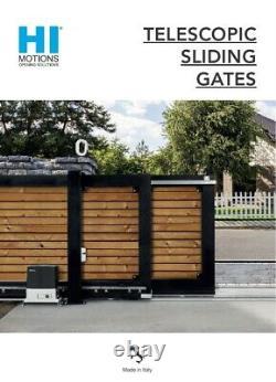 Beninca Hi-motions Serie 280 Telescopic Sliding Gate Kit 16 Ft Gate Opening
