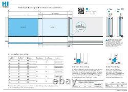 Beninca Hi-motions Serie 280 Telescopic Sliding Gate Kit 20 Ft Gate Opening