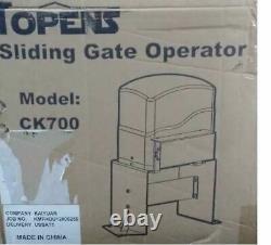 CK700 Automatic Sliding Gate Opener Kit Sliding Gate Motor for Heavy Duty Slide