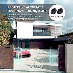 CO-Z Automatic Sliding Gate Opener Hardware Sliding Driveway Security Kit