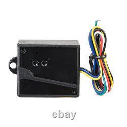 DCHOUSE Heavy Duty Auto Gate Opener Kit Dual Swing 880lbs/400KG With 7AH Battery