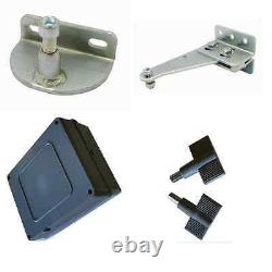E8 500MM 220-240VAC Dual Swing Gate Opener Kit With Wired Keypad and Push Button