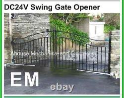 Electric Gates Single GATE OPENER 220volt KIT Up to 3.5M Ahouse EM3+