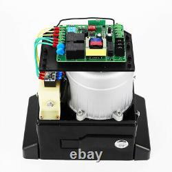 Electric Sliding Gate Opener 2000KG Automatic Motor 2 Remote Kit Heavy Duty 750W