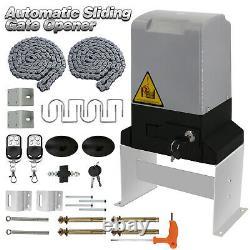 Electric Sliding Gate Opener Sliding Operator Gates Kit Automatic Remote Control