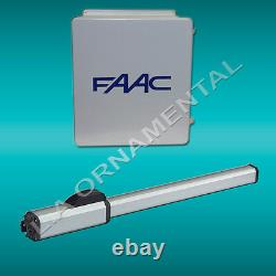 FAAC 402 CBC Automatic Gate Opener Standard Basic Single Operator Kit 115V