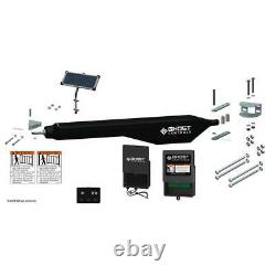 GHOST CONTROLS Architectural Series Solar Single Automatic Gate Opener Kit