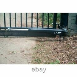 GHOST CONTROLS Solar Single Architectural Series Automatic Gate Opener Kit