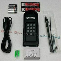 GTO R4671 Pedestrian FM145 Bulldog Replacement Keypad for Latch Kit Gate Openers