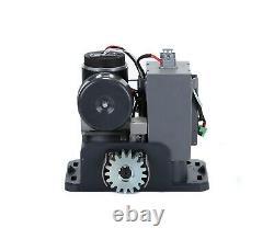 G. T. Master Fast Automatic Sliding Gate Opener Kit DC24V Motor for 1100lb Gates