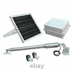 Garage Door Opener Systems Solar Auto Gate Opener Kit Single Gates Up to 16ft