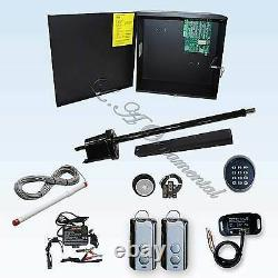Gate Opener Single Swing Apollo 1550 ETL Complete Kit 5 Receiver Remote Control