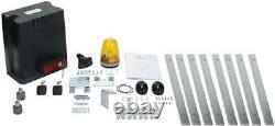 Gatexpert Sliding Gate Opener Kit With Ac 110V/60Hz Motor, Wireless Remote, Alar