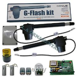 Genius G-Flash Kit 115v 300lbs for Swing Residential Gate Automatic Operator