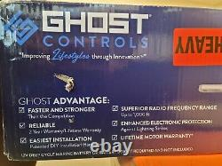 Ghost Controls TDS2 Heavy-Duty Dual Automatic Gate Opener Kit for Swing Gates