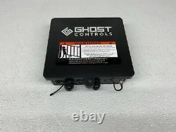 Ghost Controls TSS1XP Heavy-Duty Single Solar Gate Opener Kit for Swing Gates