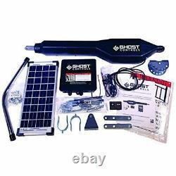 Ghost Controls TSS1XP Heavy-Duty Solar Single Automatic Gate Opener Kit for
